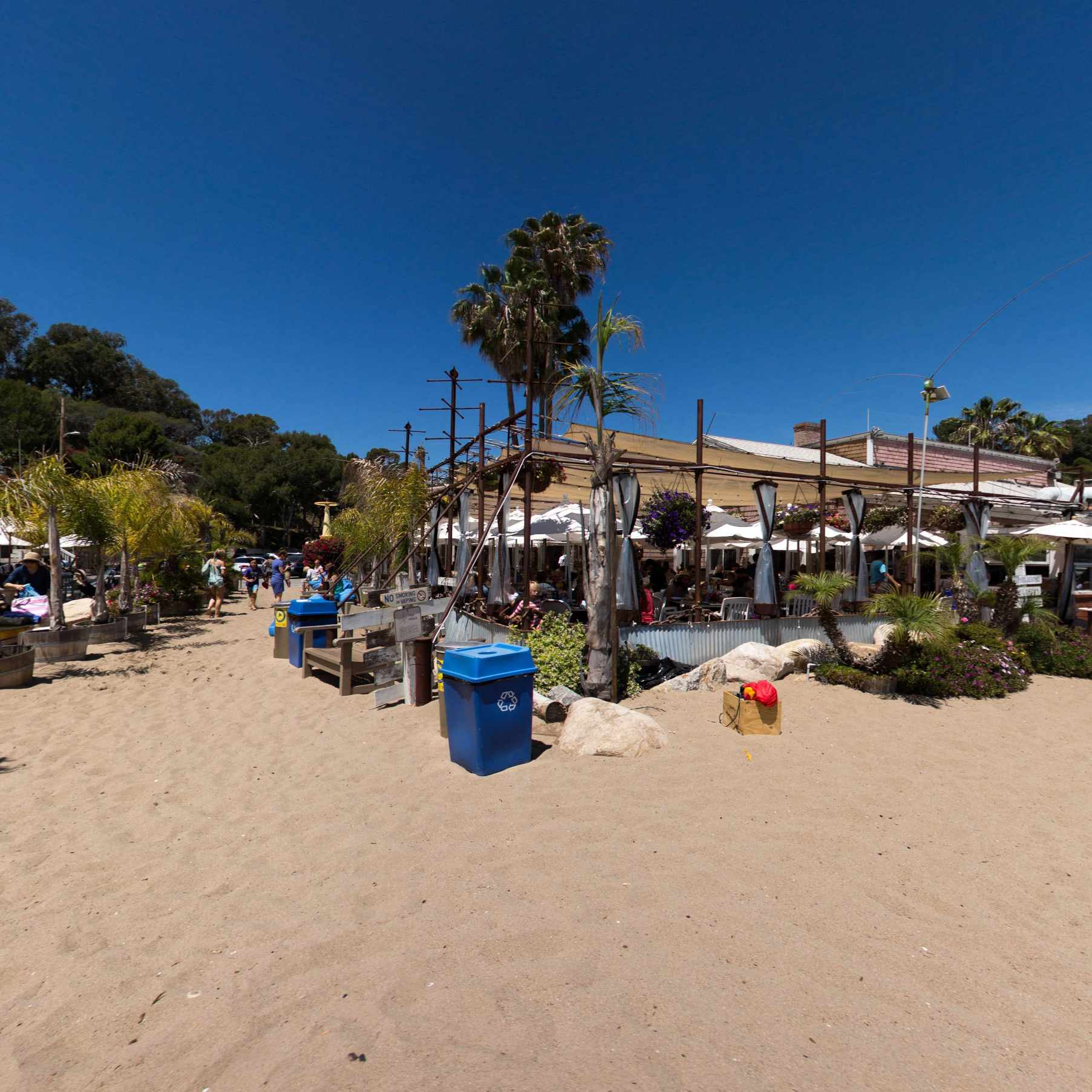 A Beach Wedding At Paradise Cove In Malibu Vows And Hows