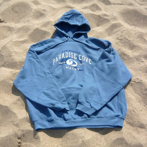 Paradise Cove Light Blue Hoodie