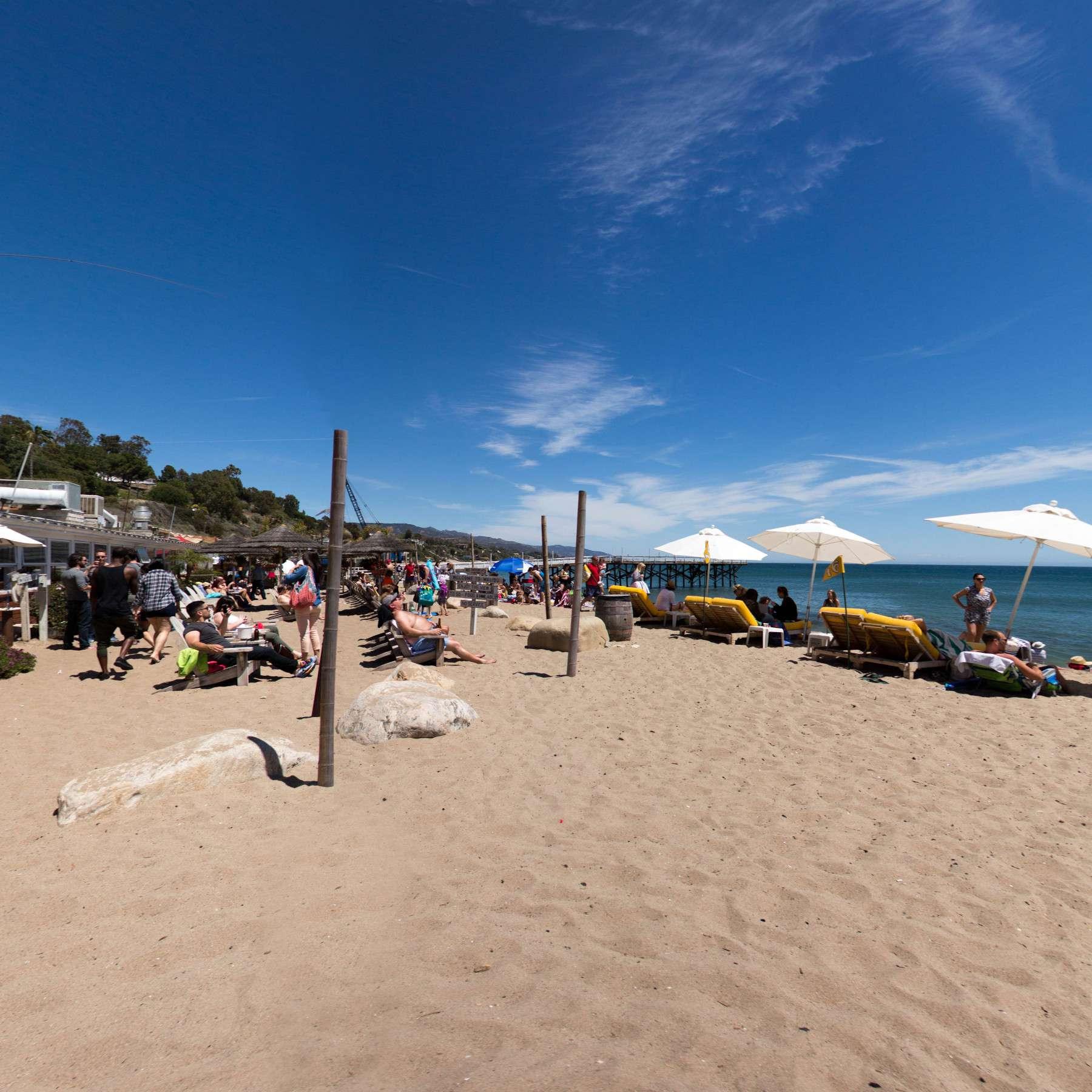 Bob Morris S Paradise Cove Beach Cafe In Malibu California