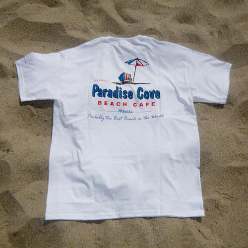 Paradise Cove White T-Shirt