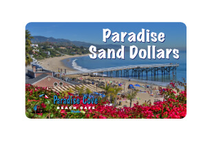 Paradise Cove Gift Card